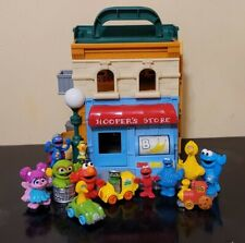 Sesame Street Mr. Hooper's Store With Lots Of Figures Fast Shipping!!!