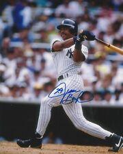 JESSE BARFIELD SIGNED NEW YORK YANKEES 8X10 PHOTO