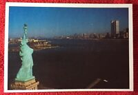 Vintage Statue of Liberty Small Post Card In Color