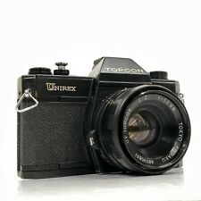 Topcon Unirex SLR Film Kamera Body/Tokyo Kogaku UV Topcor f2 50mm Objektiv-wie