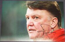 Louis van Gaal signed photo (Bayern Munich, Barcelona, Man Utd)