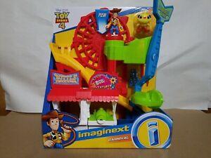 Fisher-Price Imaginext Toy Story 4 Carnival Playset Disney Pixar Sheriff Woody
