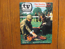 Feb.  2, 1975 Detroit News TV Magazine(SIMON WARD/ANTHONY HOPKINS/STEVE FORREST)