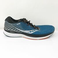 Saucony Mens Guide 13 S20548-25 Blue Black Running Shoes Lace Up Low Top Size 10