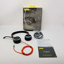 Jabra Evolve 40 Wired Headset Usb Or Jack Connectivity Professional Corded