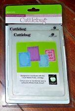 Cricut Cuttlebug 4pk Embossing Folders ~WINTER FROLIC~ Item# 2000566