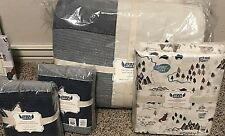 Pottery Barn Kids Junk Gypsy star Queen quilt sham adventures camp outdoor sheet