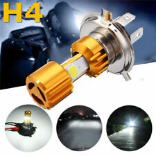 DC12-24V 6500K 1500LM H4 LED Headlight Kit Motorcycle COB Hi/Lo Lamp Bulb Kits N
