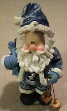 Jts International Inc. Santa Christmas ceramic Christmas ornament brand new