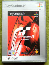 Gran Turismo 3 A-spec (Sony PlayStation 2, 2001, Pal, Ps2, Game, Complete)
