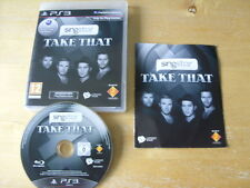 PLAYSTATION 3 GAME - SINGSTAR TAKE THAT     *FREE UK P&P*