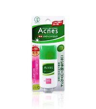 Rohto Mentholatum Acnes Medicated Uv Tinted Milk Sunscreen Spf50+ Pa+ 30g