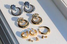 Lot of 14.6 Grams of Wearable Gold Filled Earrings Jewelry NOT SCRAP