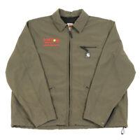 CARHARTT Fleece Lined Softshell Jacket | XL | Workwear Work Soft Bomber Vintage