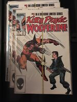 Kitty Pryde and Wolverine #3 in Very Fine + condition. Marvel comics