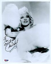 MAE WEST Signed 8x10 Photo  PSA/DNA#:Y82102