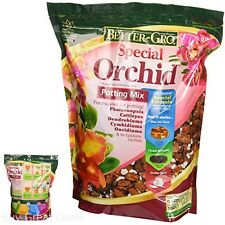 Sun Bulb Better Gro Special Orchid Mix 4 Quart Multi Purpose Potting Mixture New