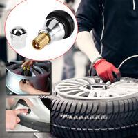 4Pcs Durable Auto Car Accessories TR412 Wheel Tire Valve Cap Stem Universal Top