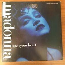 Madonna Open Your Heart LP Vinyl 33 GIRI 45 rpm 1986