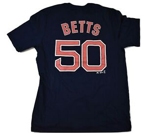 Majestic MLB Youth Boston Red Sox Mookie Betts Shirt Look S(8), M(10-12), XL(18)