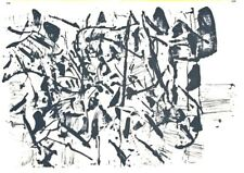 Jean Paul Riopelle Original Lithograph Limited #156/157 One Cent Life 1964 Rare