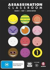 Assassination Classroom Season 1 Part 1 Episodes 1-11 Limited Edition NEW DVD