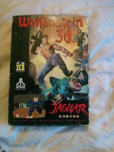 *RARE* Atari Jaguar Wolfenstein 3D cartridge game ID software1992 boxed/complete
