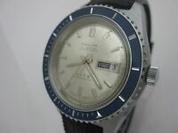 NOS NEW SWISS VINTAGE PALLAS DIVERS MECHANICAL HAND WINDING MENS ANALOG WATCH