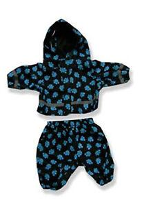 "Blue Paws Rain Suit Outfit Teddy Bear Clothes Fit 14"" - 18"" Build-a-bear and Mak"