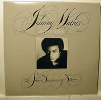 Johnny Mathis GF 2 x LP The Silver Anniversary ALBUM NM- Vinyl NEVER PLAYED
