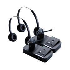 Jabra Pro9450 Duo Stereo Wireless Headset (2-Pack) w/ PeakStop Technology