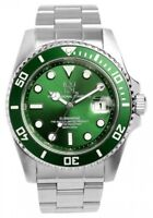 HYAKUICHI 101 Divers watch Green Bezel 20 ATM water resistant Japan Tracking