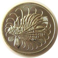 elf Singapore 50 Cents 1982  Lionfish  Fish  Proof