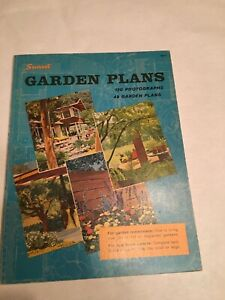 GARDEN PLANS By Sunset Books and Sunset Magazine (1971, Paperback)  (2332)