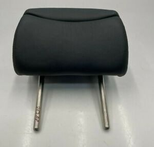 2007-2010 AUDI A8 A8L - REAR SEAT LEFT / RIGHT SIDE HEADREST LEATHER BLACK OEM