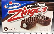 Hostess Zingers Raspberry Devil's Food Iced Vanilla Or Any Current Flavor
