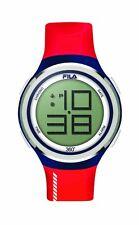 FILA CASUAL 38-038-102 Uhr Armbanduhr Sport Uhren Jogging Fitness Rot Unisex