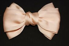 Gorgeous Cute Ladies/Girls Peach Colour Large Bow Hair Clip (S390)
