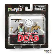 Walking Dead Minimates TRU Toys R Us Wave 7 Ezekiel & Mauled Zombie