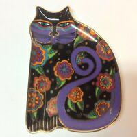 """Laurel Burch """"Feline Fantasy"""" Franklin Mint Royal Doulton Decorative Cat Plate"""