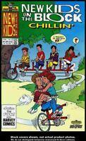 New Kids on the Block: Chillin' #3 Harvey 1991 FN
