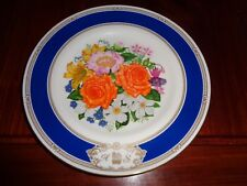 Royal Doulton Collectors Plate ROYAL WEDDING BOUQUET ANDREW AND SARAH 1986