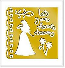 Disney Princess Brass Stencil - 46625 - Sleeping Beauty by All Night Media - NEW