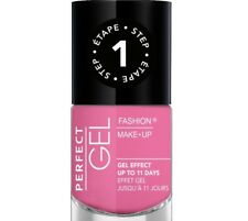 FASHION MAKE -UP - PERFECT GEL vernis à ongles effet gel N°05 BUBBLE GUM NF