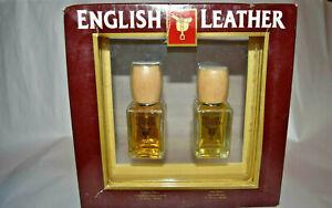 2pc NIB English Leather Cologne Spray 1.7 oz + After Shave 1.7 oz