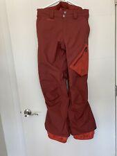 Burton AK Cyclic Snowboard Pants - Red - Mens Medium