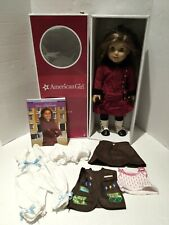 """American Girl Rebecca 18"""" Doll W/Outfit-Book & Extra Clothing Pieces"""