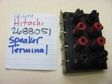 HITACHI 2688051 SPEAKER TERMINALS SR-604 STEREO RECEIVER
