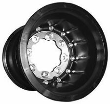 Hiper Wheel - 1090-YHR-SBL-BK - Rear - Tech 3 ATV Carbon Fiber Wheel~
