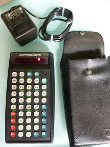 Commodore Business Machine SR 4190  Palo Alto Taschenrechner  mit Netzstecker